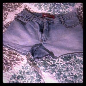 Vintage Zanadi Jean Shorts